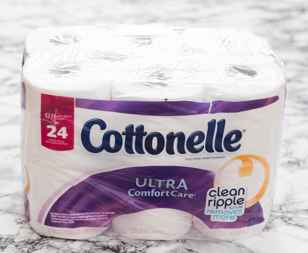 photo of cottenelle toilet paper