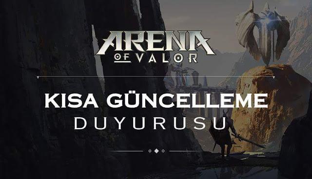 Arena of Valor 7 Eylül Güncellemesi