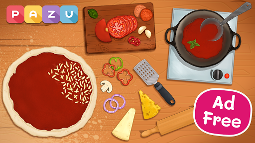 Pizza maker - cooking and baking games for kids screenshots 1