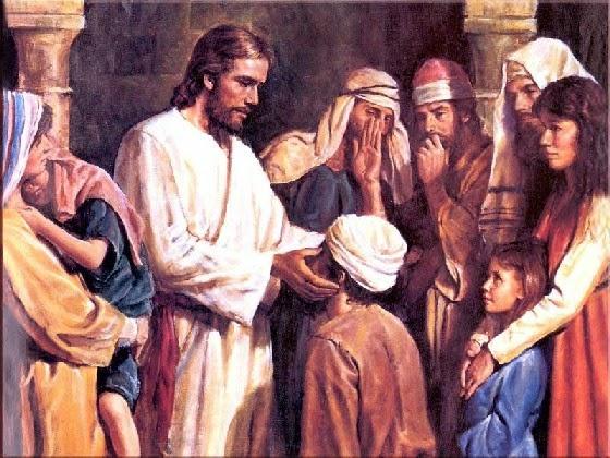 Иисус лечил и воскрешал