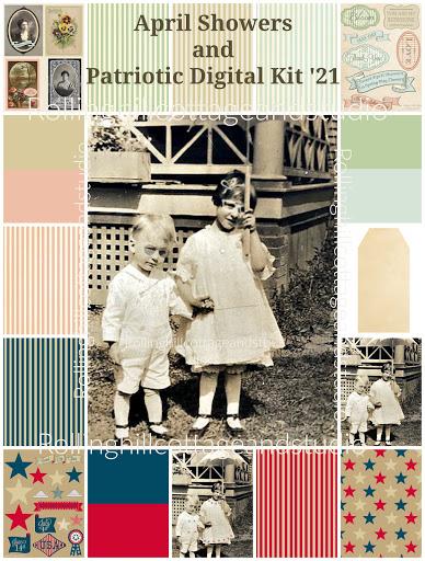 Patriotic / April Showers '21 Digital Kit