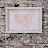 'MANGEL'  - Installation - Watercolour, pencil on paper