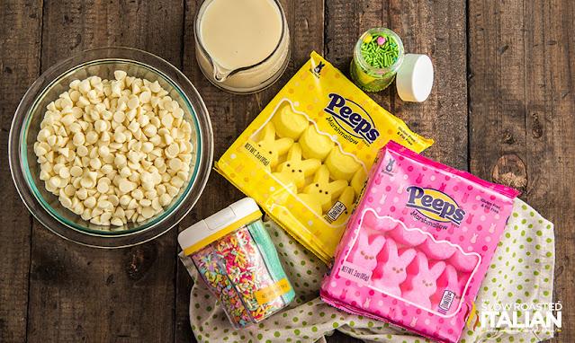 Marshmallow Fudge Ingredients