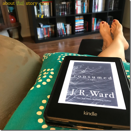 Review: Consumed (Firefighters #1) by J. R. Ward   About That Story
