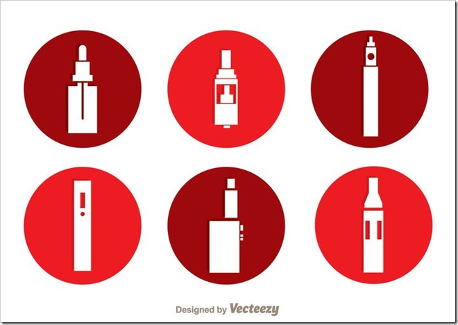 vector-vape-circle-icons