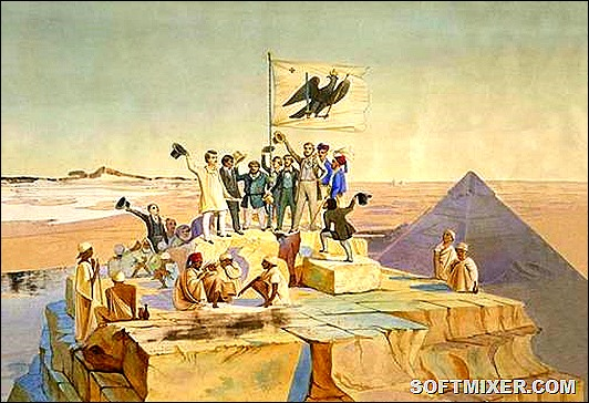 Lepsius-Expedition-Cheops-Pyramide