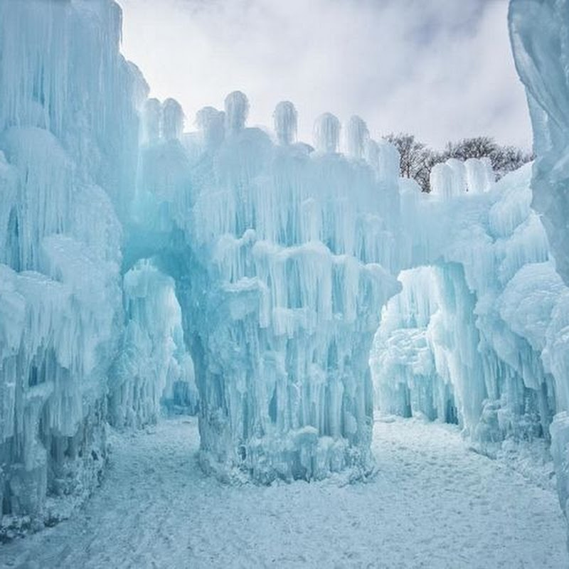 Brent Christensen's Amazing Ice Castles