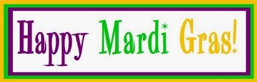 Happy Mardi Gras! #fattuesday2014 #mardigras