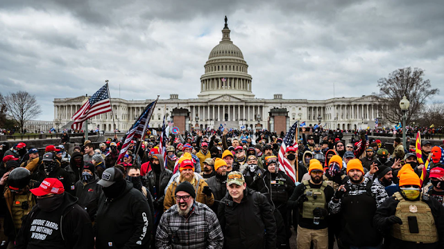 No Treason Or Sedition Charges For January 6th Capitol Rioters, Report