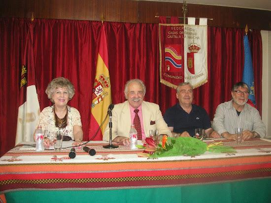 Baldomero Palomares presentó su poemario 'Marinero de Ríos'