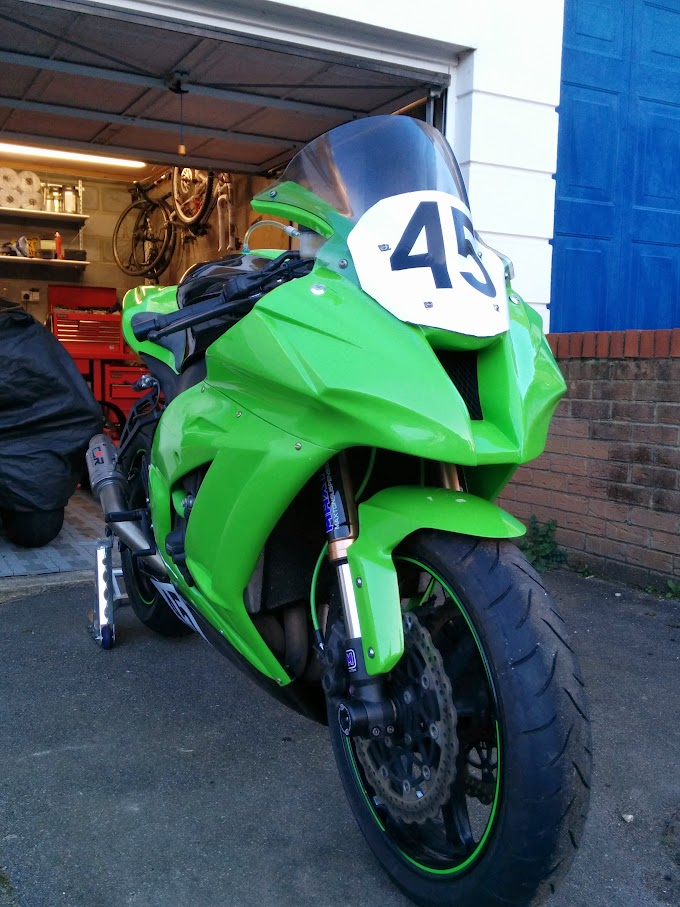 ZX10R Front 3/4