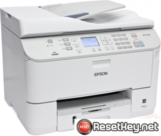 Reset Epson WorkForce WP-4525 printer Waste Ink Pads Counter