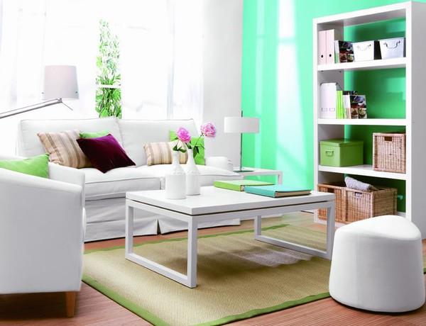 Nghệ thuật kết hợp nội thất và màu sơn