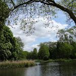 Château de Rambouillet : Jardin anglais, allée verte et île des Festins