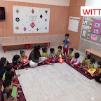DIAMOND SHAPE ACTIVITY DONE BY NURSERY SECTION (2017-18) AT WITTY WORLD, BANGUR NAGAR