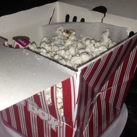Popcorn in der Box