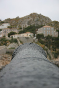 Cannon defending the island of Hydra