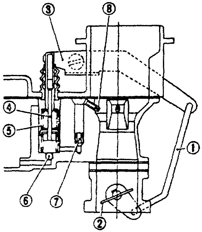Схема насоса-ускорителя