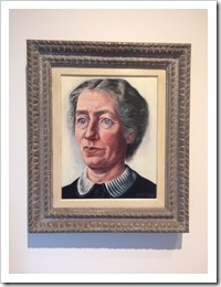 Charley Toorop schildert Lotte Rademacher