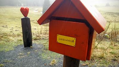 Stempelkasten: Hahnenkleer Liebesbankweg