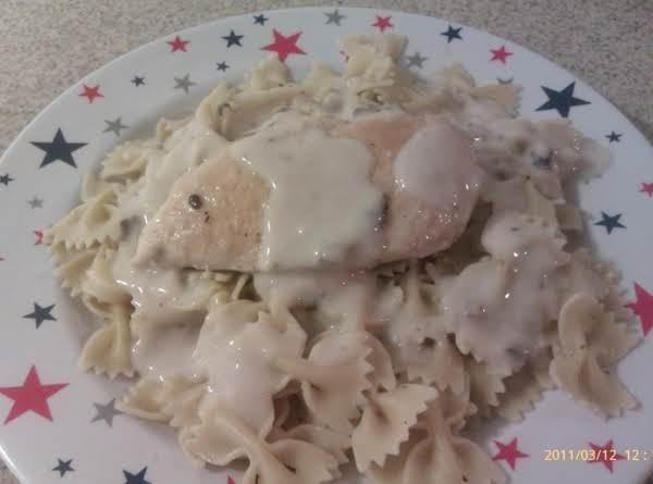 Creamy Mushroom Chicken And Pasta