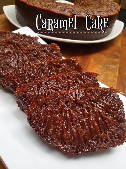 Cozy Kitchen Caramel Cake Bolu Sarang Semut