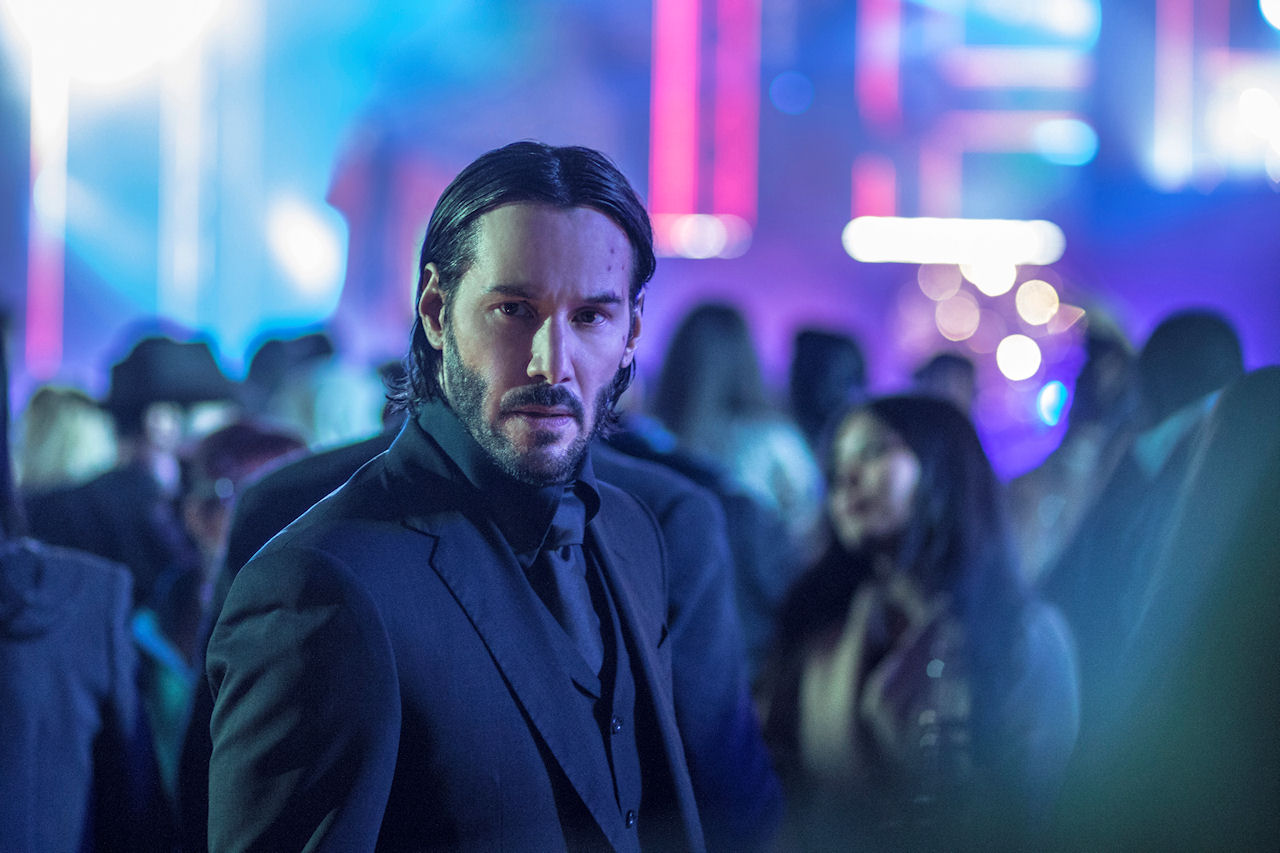 Keanu Reeves stars as 'John Wick' in JOHN WICK: CHAPTER 2. (Photo by Niko Tavernise / courtesy of Lionsgate).