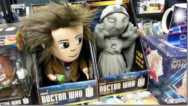 Doctor Who-merchandising op FACTS