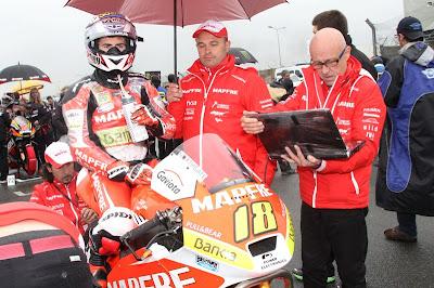 Nico Terol Le Mans 2012