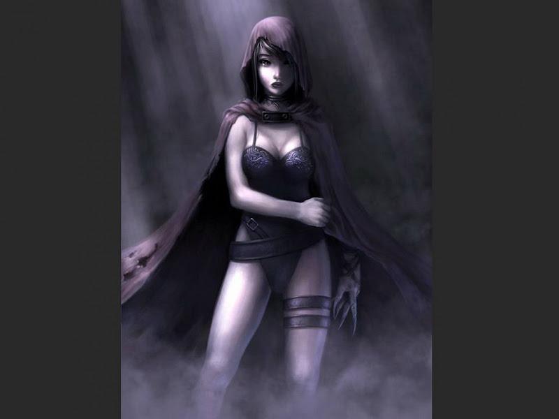 Dark Witch In The Fog, Wicca Girls
