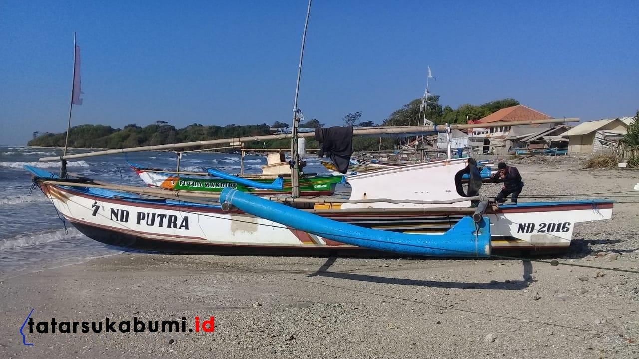 Nelayan Ujung Genteng Terseret Hingga Perairan Banten