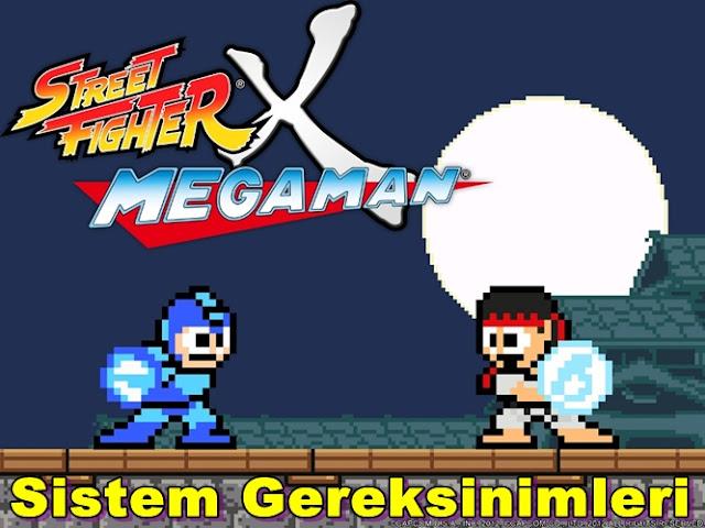 Street Fighter x Megaman PC Sistem Gereksinimleri