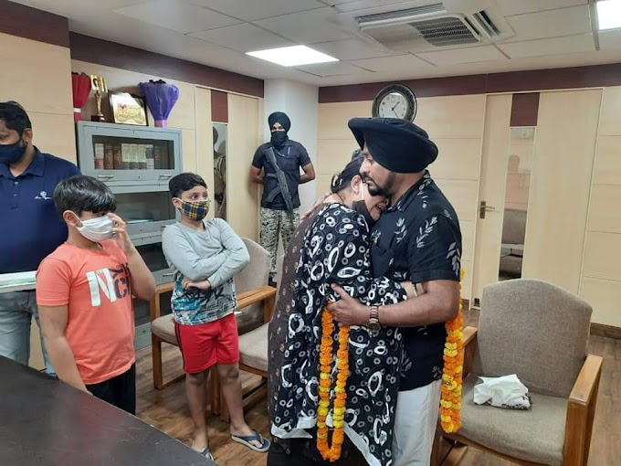 Lehmber Hussainpuri's Long-Time Dispute With His Wife Settles Down By Manisha Gulati From Women Commission