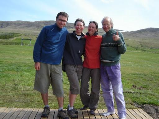 With Delphine & Robert, Hvammstangí [Iceland]