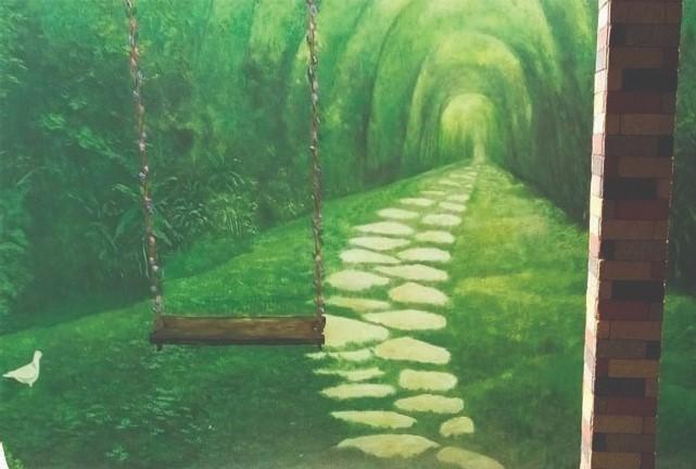 Contoh Lukisan Mural Taman Terbaik