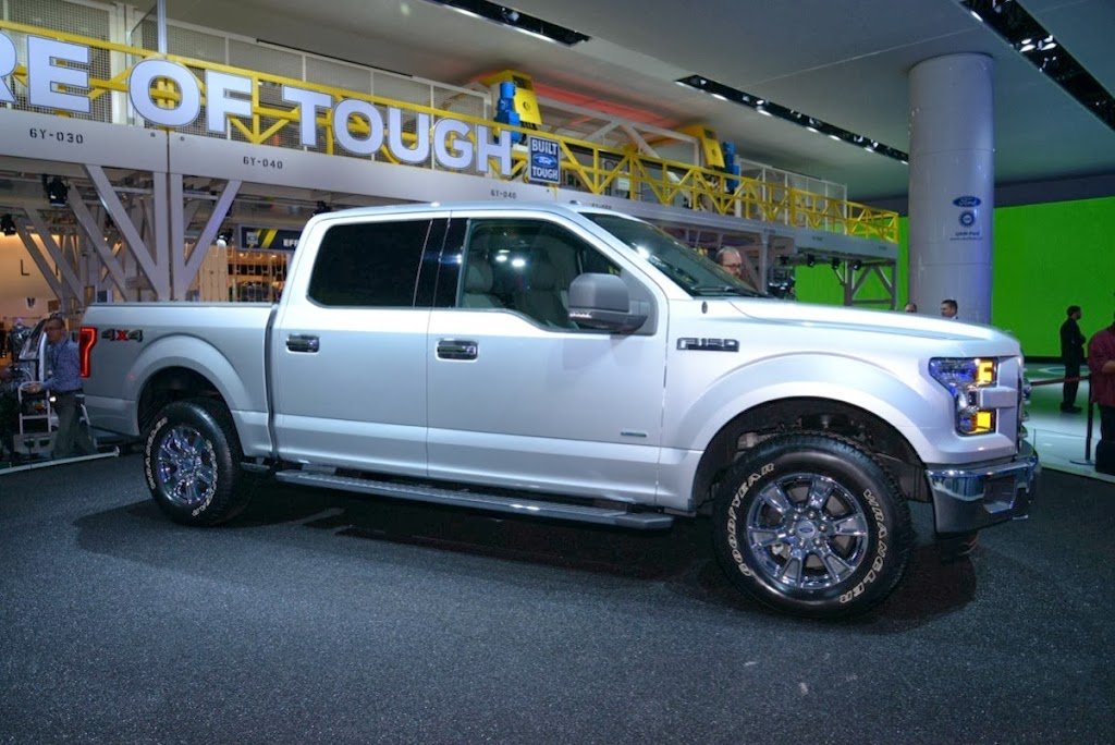 2015 Ford F-150 Unveiling NAIAS 16