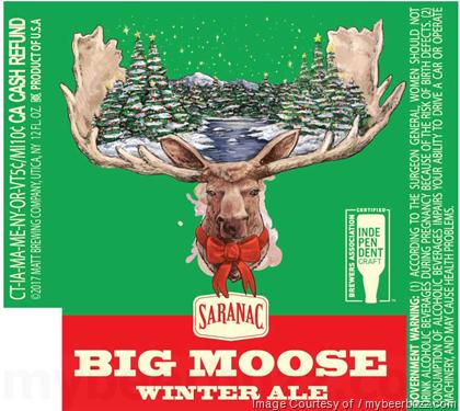 Image result for Saranac Big Moose winter ale Logos
