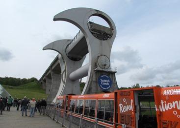 17050451 May 19 Arriving At Falkirk Wheel
