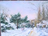 Świnoujście - promenada zimą