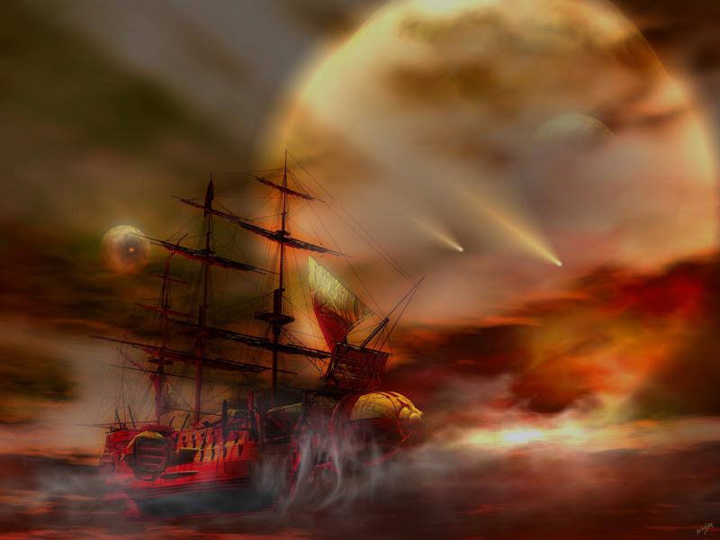 Dream Of Horror Landscape 7, Magical Landscapes 4