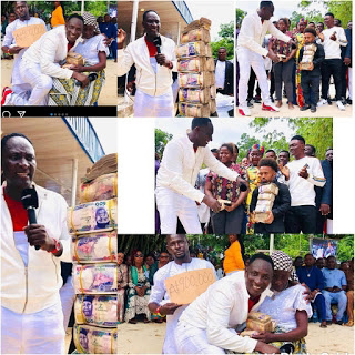 Fathers Day: The Billionaire Prophet, Jeremiah Fufeyin of CMDM splashes millions to support the Matrimonial Celebration of some of his followers [Watch Video]