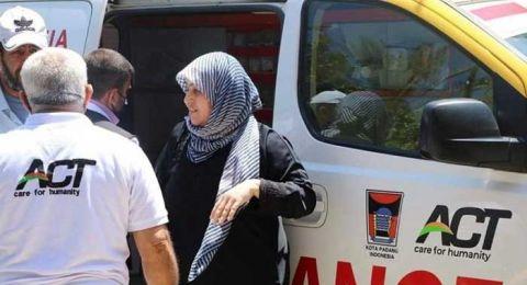 Viral Ambulans Logo Pemkot Padang Bantu Evakuasi Korban di Palestina