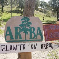 Plantación en el Parque de los Alcornoques - 10 de marzo de 2013