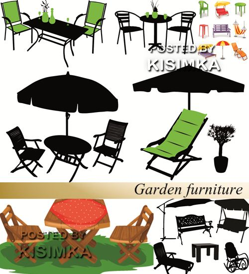 Stock: Garden furniture