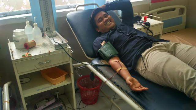 Pengalaman Pertama Kali Donor Darah