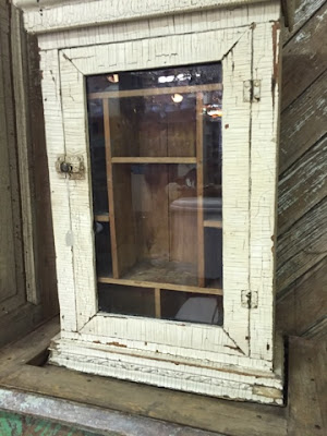 Ft. Worth, Texas, Old Home Supply, Chippy Cabinet