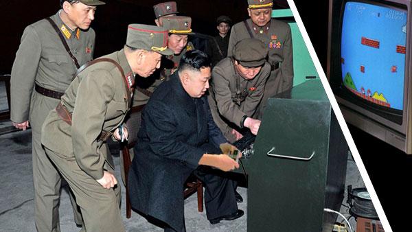 Kim Jong Un NES