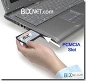 PCMCIA port
