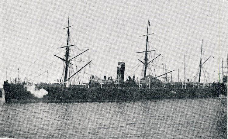 El transporte de guerra DON ALVARO DE BAZAN. Del libro La Marina Cantabra. Desde el Vapor. Vol.tif
