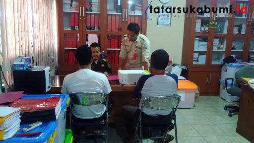 Dua Oknum Kades di Sukabumi diduga tilep Dana Desa dan ADD / Foto : Rapik Utama (31/1/2019)